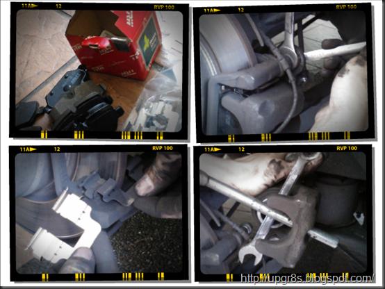 When To Change Brake Lining : My car life bmw e i diy rear brake lining pad