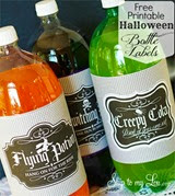 Skip to My Lou Bottle Labels