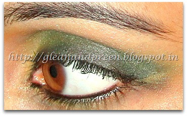 Smokey Bottle Green Eye