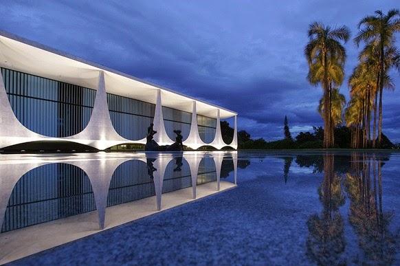 Palacio da Alvorada - Oscar Niemeyer, Brasilia