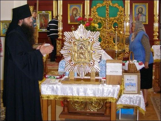 Список чудотворної Почаївської ікони Богородиці у Вишневі
