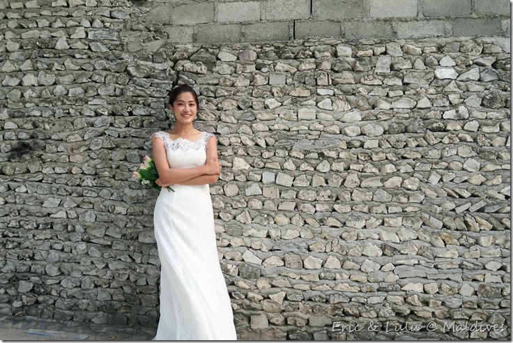 馬爾地夫腳架婚紗 (5)