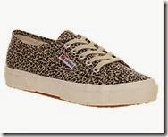 Superga Leopard Print Casual Sneaker