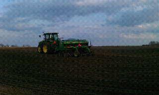Planting Alfalfa (and its still winter?!)
