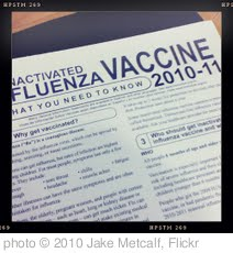 'Finally Got A Flu Shot $25.' photo (c) 2010, Jake Metcalf - license: http://creativecommons.org/licenses/by/2.0/