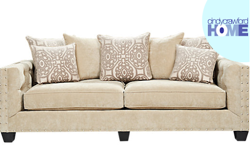 Sidney Road Sofa By Cindy Crawford Home At Rooms To Go