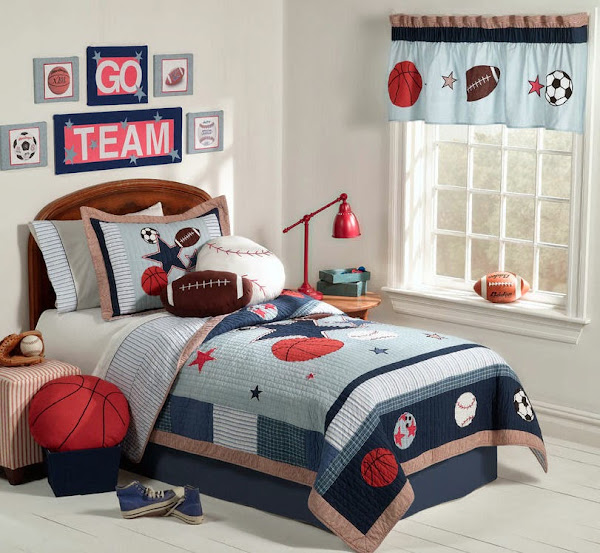 Boys Sport Bedroom 12 Boy Bedroom Ideas