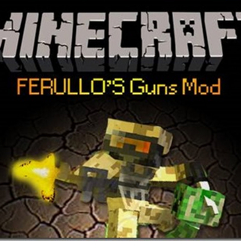 Minecraft 1.5.1 - Ferullo's Guns Mod