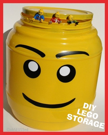obSEUSSed DIY Lego Storage Container