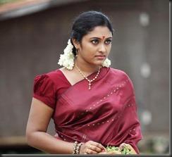 Actress_SreejaChandran_hot_in_saree