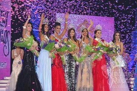 Bb. Pilipinas 2015 Winners