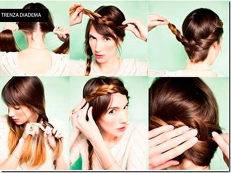 Peinados con Trenzas 2013 Como Hacer Trenzas de Moda paso a paso video