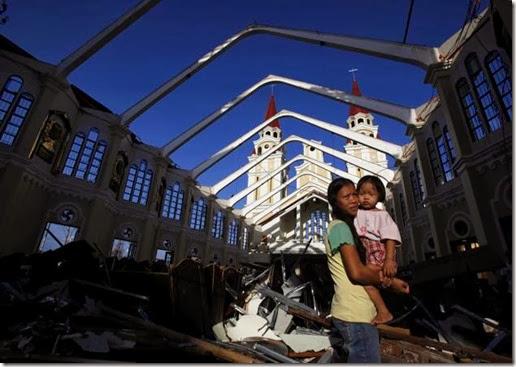 Yolanda - Tacloban Church