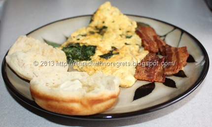 Breakfast Omelet & Muffin Cup Biscuits