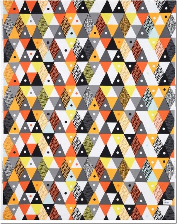 case e interni - tendenza decorazione  triangoli - Triangles 9a