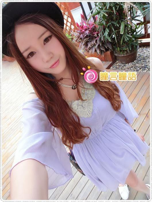 日本KRIAKRIA隱形眼鏡-Sweety Eye 糖果巧克力CIMG1742