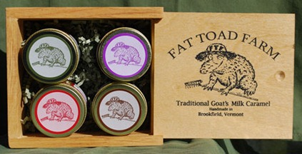 Fat Toad Farm Toad-ally Cute Caramel Gift Box