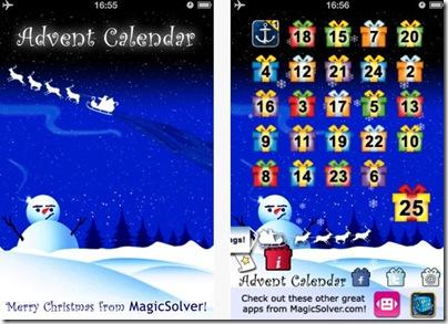Applicazione Calendario di Natale