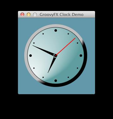 A Groovy Clock