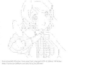 [AA]Koizumi Hanayo Point at (Love Live!)