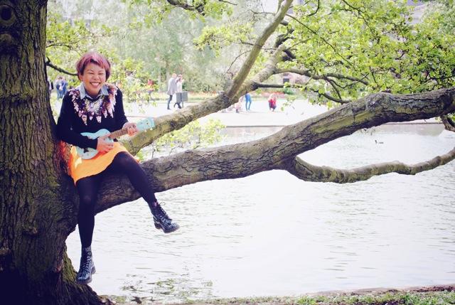 ukulele in the tree