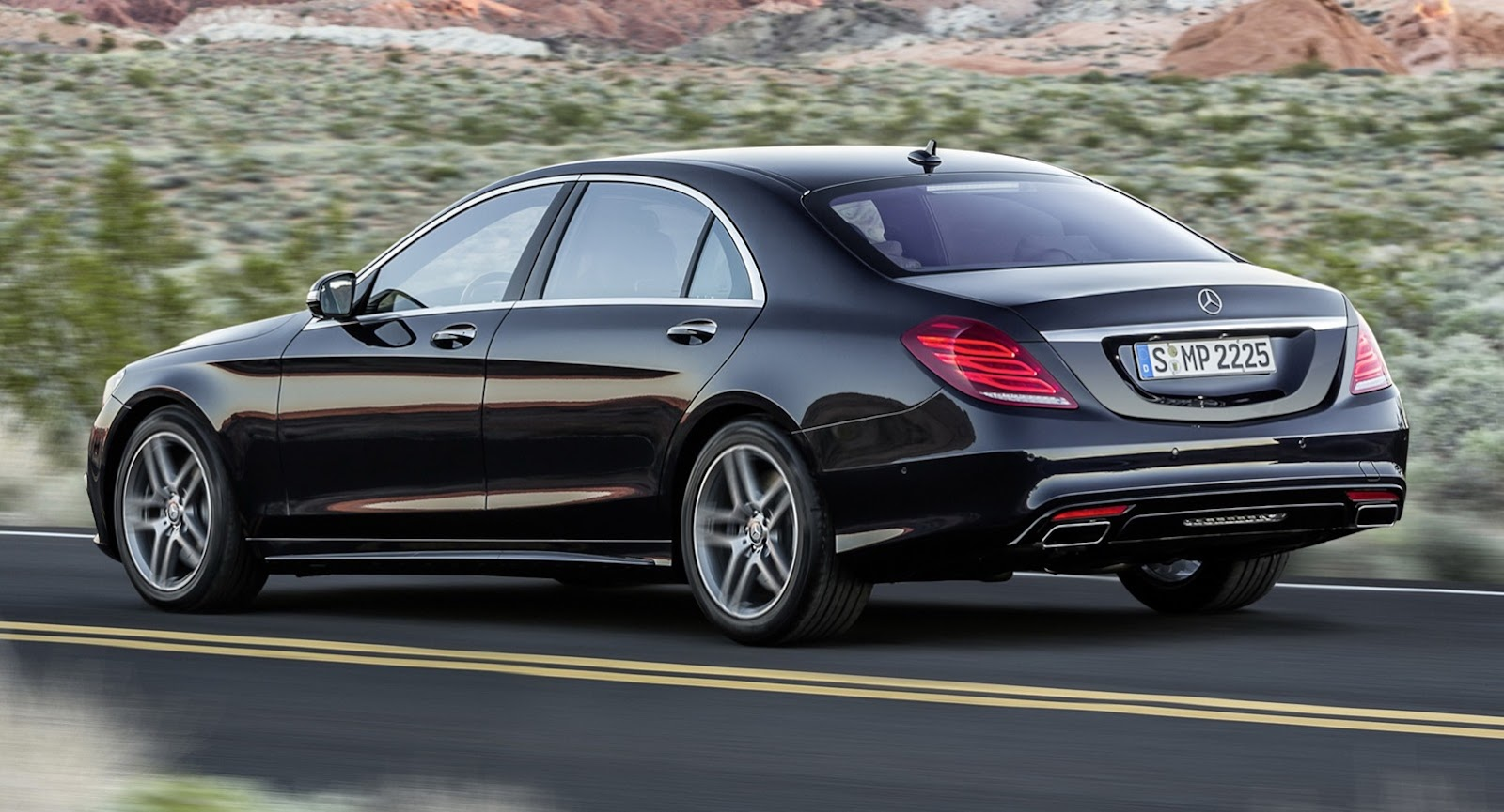 We Compare The W222 Mercedes Benz S Class Side By Side To