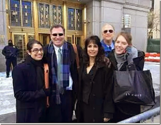 Nitzana Darshan-Leitner (C) and Kent Yalowitz (2L) Fed Court PA libel
