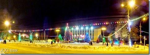 Новогодние каникулы на городской площади-