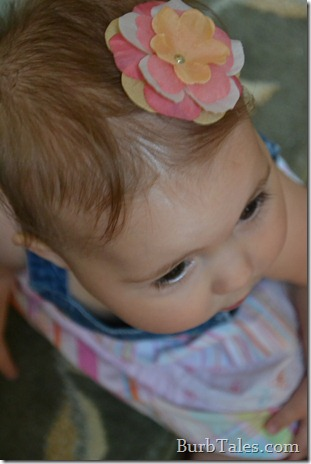 DIY Baby Hair Flower