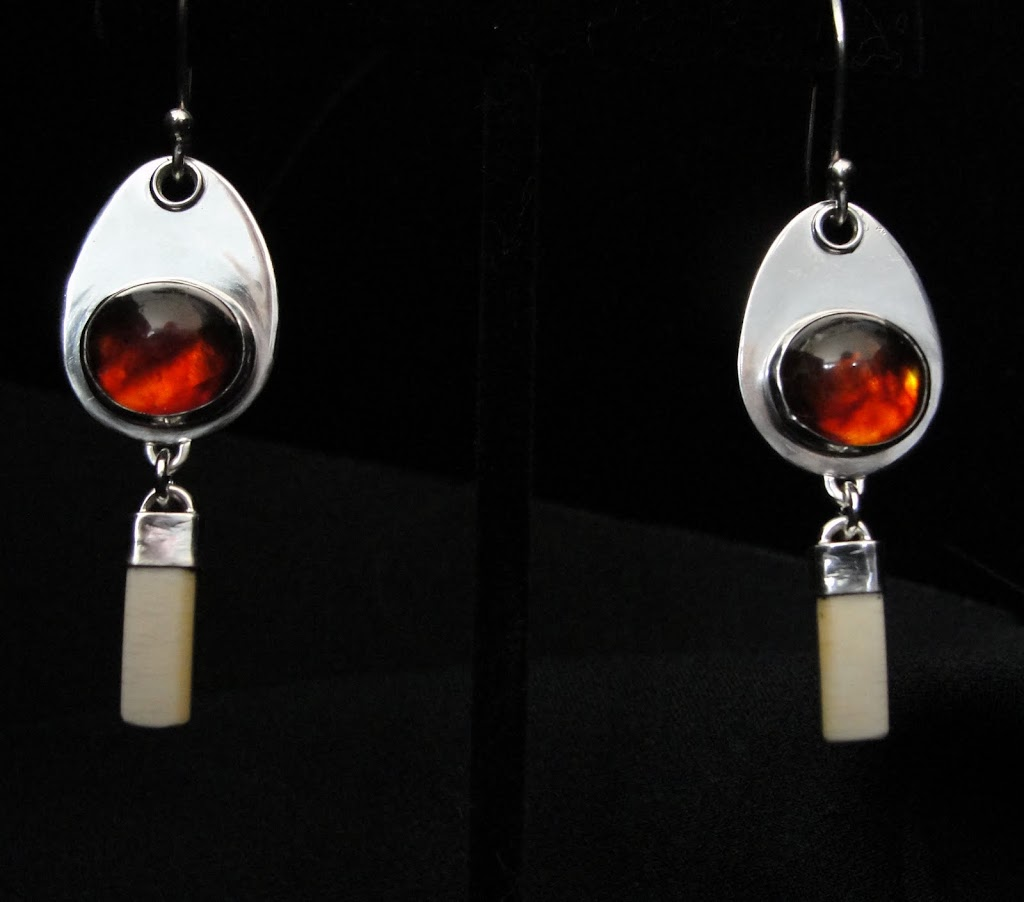 Garnets w/Ivory drops - Sold