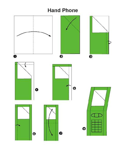 Langkah Langkah Membuat Origami Hand Phone Pwned By Dev19feb