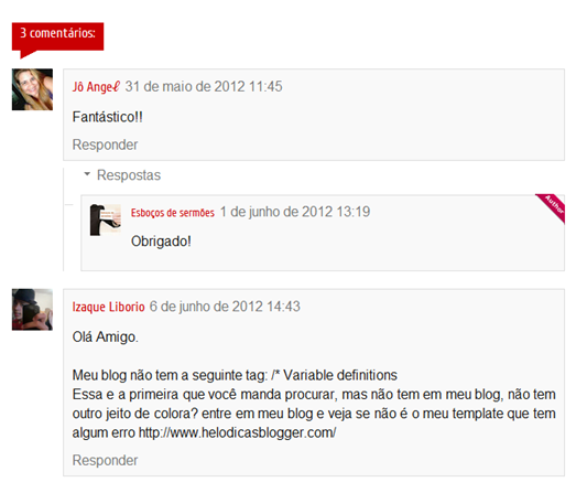 Dicas Blogger