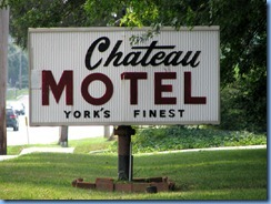 2071 Pennsylvania - PA Route 462 (Market St), York, PA - Lincoln Highway - Chateau Motel