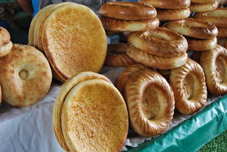 Paine traditionala in Tashkent Chorsu