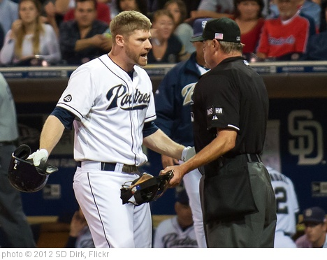 'Chase Headley' photo (c) 2012, SD Dirk - license: http://creativecommons.org/licenses/by/2.0/