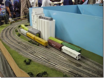 IMG_5361 Grain Elevator on the LK&R HO-Scale Layout at the WGH Show in Portland, OR on February 17, 2007