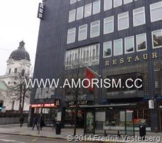 DSC01098.JPG ABF huset Sveavägen Stockholm city Adolf Fredriks kyrka. Med amorism