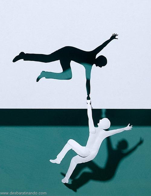 obras de arte em papel 3D origami Peter Callesen desbaratinando (23)