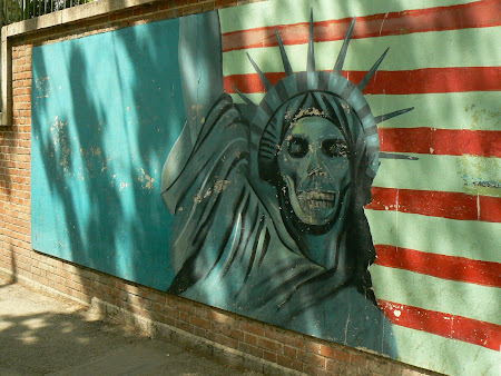 Tehran: The statue of Liberty