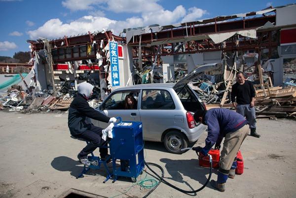 Japan Earthquake One Town Fate