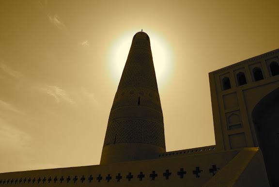 Turfan - Minaret Emin contre-jour
