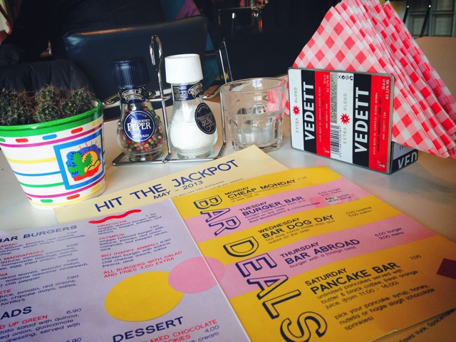 new bar rotterdam menu