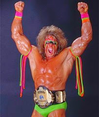 The Ultimate Warrior WWF Champion