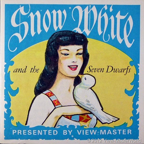 View-Master Snow White and the Seven Dwarfs (B300), booklet cover