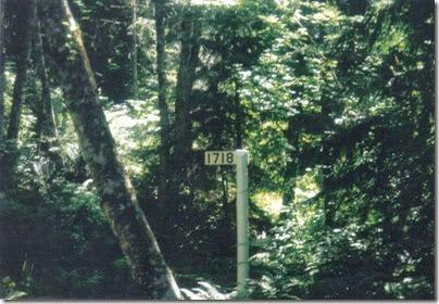 Iron Goat Trail Milepost 1718 in 2000