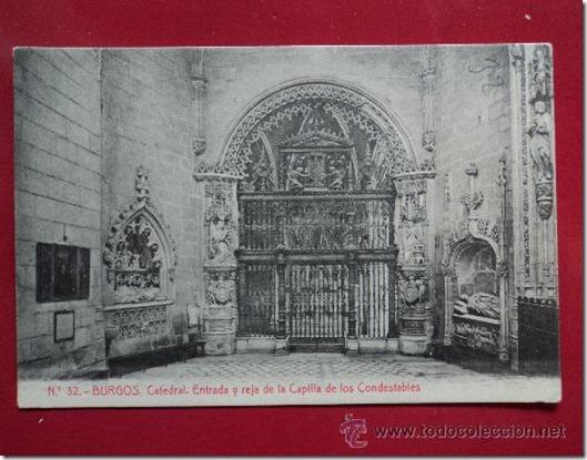 reja de la capilla de los condestables catedral burgos