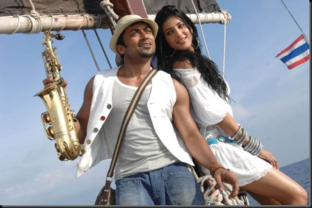 surya shruti hassan 7am arivu latest stills