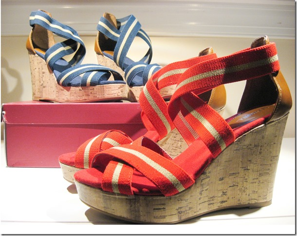 Both pairs of wedges