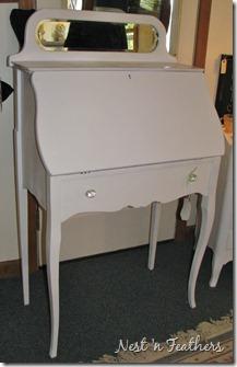 Drop front desk 3