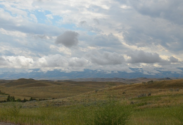 the Bighorn Mountains are waiting for us